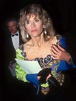 Jane Fonda Ted Turner 1991<br /> Photo By John Barrett/PHOTOlink