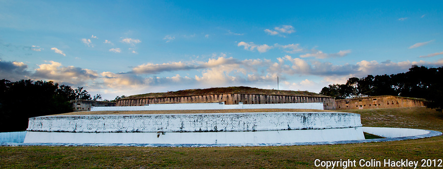Gen. Andrew Jackson had Fort Barrancas built atop the ruins of a Spanish fort to protect the Pensacola Navy Yard from invasion.<br /> <br /> COLIN HACKLEY PHOTO