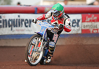 Jason Crump of Belle Vue - Arena Essex Hammers vs Belle Vue Aces at The Arena Essex Raceway, Lakeside - 13/07/05 - MANDATORY CREDIT: Rob Newell/TGSPHOTO