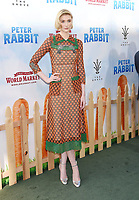 LOS ANGELES, CA - FEBRUARY 03: Actor Elizabeth Debicki arrives at the Premiere Of Columbia Pictures' 'Peter Rabbit' at The Grove on February 3, 2018 in Los Angeles, California.<br /> CAP/ROT/TM<br /> &copy;TM/ROT/Capital Pictures