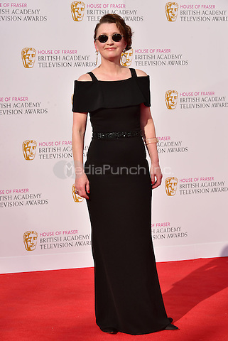 LONDON, ENGLAND - MAY 08: Lesley Manville at he British Academy (BAFTA) Television Awards 2016, Royal Festival Hall, Belvedere Road, London, England, UK, on Sunday 08 May 2016.<br /> CAP/JOR<br /> &copy;JOR/Capital Pictures /MediaPunch ***NORTH AMERICA AND SOUTH AMERICA ONLY***