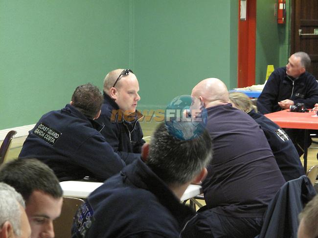 Drogheda Coast Guard Members JSAR 2009 Ballybunnion.Picture Fran Caffrey/www.newsfile.ie.