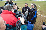 Gretna 2 Alloa Athletic 1, 25/03/2006. Raydale Park, Scottish Second Division.The result confirmed Gretna as Scottish Second Division Champions. Photo by Paul Thompson.