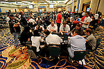 A view of the final three tables.