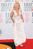 Ellie Goulding arriving at The Brit Awards 2015 (Brits) held at the O2 - Arrivals, London. 25/02/2015 Picture by: James Smith / Featureflash