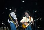 Jimmy Page & Paul Rodgers performing live in 1983 at Madison Square Garden