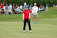 Sakura Yokomine (Japan) reacts to missing a birdie putt on the 18th hole during the final round of the ShopRite LPGA Classic presented by Acer, Seaview Bay Club, Galloway, New Jersey, USA. 6/10/18.<br /> Picture: Golffile | Brian Spurlock<br /> <br /> <br /> All photo usage must carry mandatory copyright credit (&copy; Golffile | Brian Spurlock)