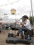 Street musician, Austin, Texas, USA