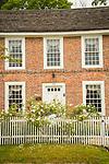 MacMillan House, 'Old Brick'. Historic Society, Clinton, CT. 1750 Captain Elisha White