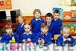 School Today<br /> ------------------<br /> Chloe Cronin, Amy&amp;Elsie O'Connor, Aisling&amp;Sean O'Donoghue, Adam Furlong, Denny Kerin and Ronan O'Mahony all enjoying their first day at Cordal NS last Wednesday