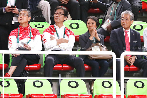 JOCTsunekazu Takeda, <br /> AUGUST 8, 2016 - Artistic Gymnastics : <br /> Men's Final  <br /> Horizontal Bar   <br /> at Rio Olympic Arena <br /> during the Rio 2016 Olympic Games in Rio de Janeiro, Brazil. <br /> (Photo by Sho Tamura/AFLO SPORT)