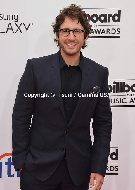 Josh Groban 132 at the  2014-Billboard Music Awards at the MGM Grand Arena in Las Vegas.