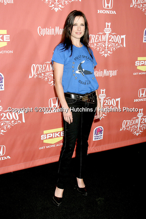 "Shawnee Smith.Spike TV's ""Scream 2007"" Awards.The Greek Theater.Los Angeles,  CA.October 19, 2007.©2007 Kathy Hutchins / Hutchins Photo...               ."