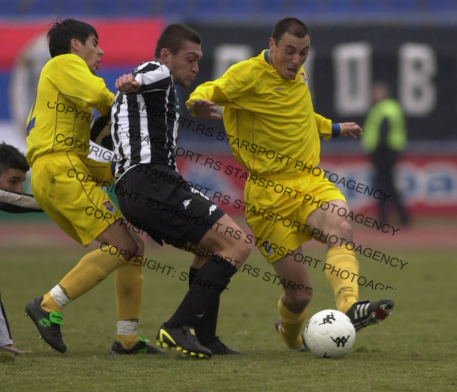 SPORT FUDBAL PARTIZAN OBILIC 28.02.2004. Ivica Iliev FOTO: Pedja Milosavljevic<br />