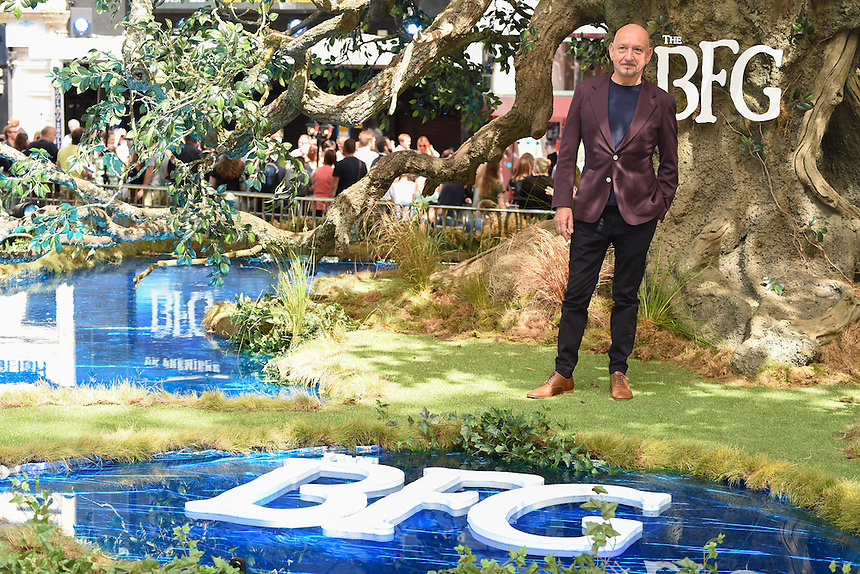 "Sir Ben Kingsley<br /> arrives for the ""BFG"" premiere at the Odeon Leicester Square, London.<br /> <br /> <br /> ©Ash Knotek  D3141  17/07/2016"