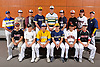 The Newsday All-Long Island baseball team gathers for a group picture at company headquarters on Wednesday, June 14, 2017. Appearing are, FRONT ROW, FROM LEFT: EJ Cumbo of Clarke, Anthony D'Onofrio of Wantagh, Chris Cappas of Kellenberg, Brian Morrell of Shoreham-Wading River, Kenneth Gordon of Babylon and Patch Dooley of Half Hollow Hills East. BACK ROW, FROM LEFT: Coach Steve DeCaro of Mattituck, Brock Murtha of Sayville, Hermes Abreu of Bay Shore, Nick Manesis of Shoreham-Wading River, Ben Brown of Ward Melville, Mark Faello of Plainview JFK, Luis Dono of Valley Stream South, Brad Malm of Patchogue-Medford and Coach Tom Sheedy of Massapequa. NOT IN PICTURE: Jimmy Joyce of Wantagh, Peter Theodorellis of Commack and Chris Stefl of Floral Park.