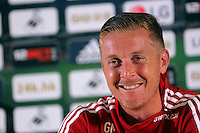 Pictured: Garry Monk Friday 28 August 2015<br />