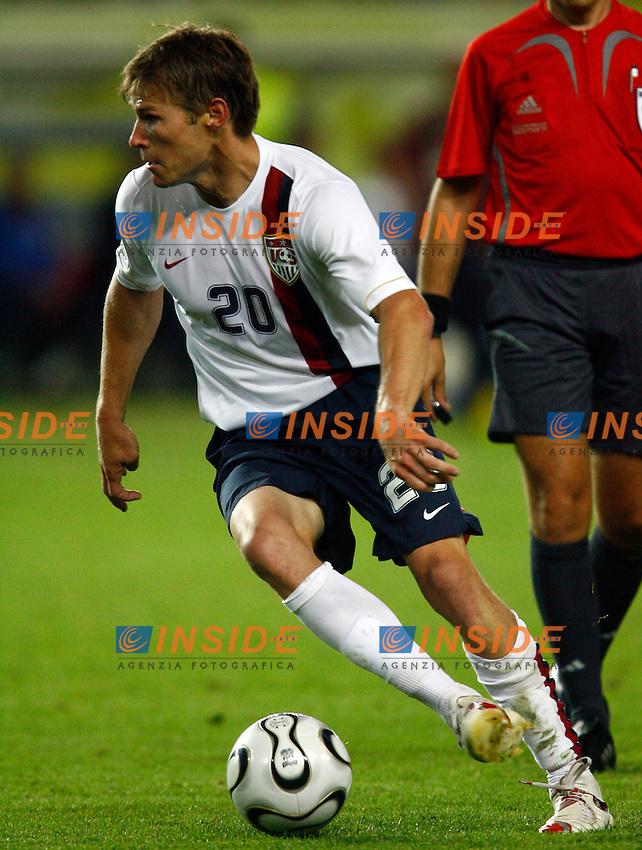 Kaiserslautern 17/6/2006 World Cup 2006.Italia USA.Photo Andrea Staccioli Insidefoto.Brian Mc Bride Usa