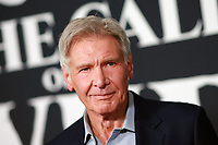 HOLLYWOOD, CA - FEBRUARY 13; Harrison Ford at The Call Of The Wild World Premiere on February 13, 2020 at El Capitan Theater in Hollywood, California.  <br /> CAP/MPI/TF<br /> ©TF/MPI/Capital Pictures