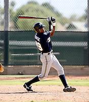 Wayne Dedrick / Milwaukee Brewers 2008 Instructional League..Photo by:  Bill Mitchell/Four Seam Images