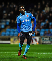 Fleetwood Town's forward Devante Cole (44) during the Sky Bet League 1 match between Scunthorpe United and Fleetwood Town at Glanford Park, Scunthorpe, England on 17 October 2017. Photo by Stephen Buckley/PRiME Media Images