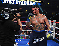 DALLAS, TX - MARCH 16: Chris Arreola after defeating Jean Pierre Agustin at the Fox Sports PBC Pay-Per-View fight night at AT&T Stadium on March 16, 2019 in Dallas, Texas. (Photo by Frank Micelotta/Fox Sports/PictureGroup)