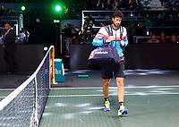Rotterdam, The Netherlands, 12 Februari 2020, ABNAMRO World Tennis Tournament, Ahoy, Robin Haase (NED).<br /> Photo: www.tennisimages.com