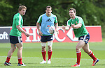 British & Irish Lions training session.George North taking part in the Lions training session in Wales..Vale Resort.15.05.13.©Steve Pope