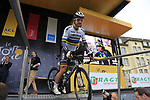 World Champion Peter Sagan (SVK) Bora-Hansgrohe at sign on in Dusseldorf before the start of Stage 2 of the 104th edition of the Tour de France 2017, running 203.5km from Dusseldorf, Germany to Liege, Belgium. 2nd July 2017.<br /> Picture: Eoin Clarke | Cyclefile<br /> <br /> <br /> All photos usage must carry mandatory copyright credit (&copy; Cyclefile | Eoin Clarke)