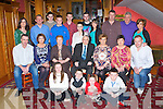 Mick O'Connor, Scartaglen who celebrated his 70th birthday with his family and friends in the River Island Hotel Castleisland on Saturday night front row l-r: Siofra O'Connor, Paddy Howard, Clodagh O'Connor, Tadhg O'Shea. Middle row: William O'Connor. Marie O'Shea, Mai O'Connor, Mick O'Connor, Bridget Clarke, Marguerite Howard, Maurice O'Connor. Back row: Mary O'Donoghue, Colm O'Shea, Paul Clarke, Conor O'Shea, Cian O'Connor, Aoibhin O'Connor, Jonathon Clarke, Karen Lucey, Sean Clarke, Patrick Howard and Eileen O'Connor.....