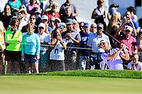 Justin Thomas (USA) on the 2nd green during the 2nd round of the Waste Management Phoenix Open, TPC Scottsdale, Scottsdale, Arisona, USA. 01/02/2019.<br /> Picture Fran Caffrey / Golffile.ie<br /> <br /> All photo usage must carry mandatory copyright credit (© Golffile | Fran Caffrey)