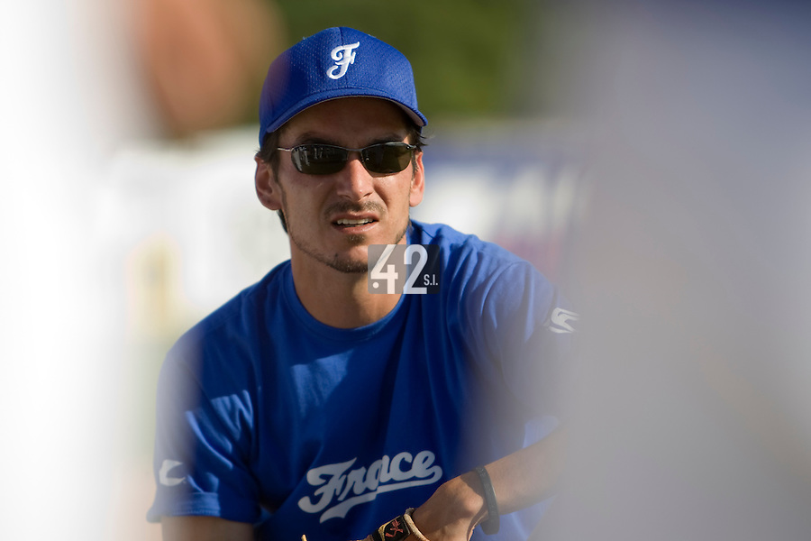BASEBALL - GREEN ROLLER PARK - PRAGUE (CZECH REPUBLIC) - 23/06/2008 - PHOTO: CHRISTOPHE ELISE.SAMUEL MEURANT (TEAM FRANCE)