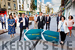 Members of Kerrys Chamber of Alliance and Kerry Co Council launch their gift card in Tralee on Monday.<br /> Front l to r: Bridget Fitzgerald (Economic Development Officer KCC), Ken Tobin, (CEO Tralee Chamber Alliance),  Patrick O'Connor Scarteen ((Cathaoirleach of Kerry County Council) and Maura Murrell (CEO KCC).<br /> Back l to r: Michael Scannell, Helen O'Connor (KCC), Paul Mc Sherry (Killarney Chamber Alliance), Jack Fitzpatrick (Caherciveen Chamber), Kevin McCarthy (Tralee Chamber), Michael John Kearney (Castleisland Chamber) and Helen Mc Dwyer (Kenmare Chamber).