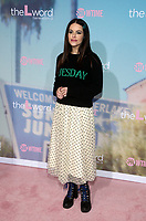 """2 December 2019 - Los Angeles, California - Emily Hampshire. Premiere Of Showtime's """"The L Word: Generation Q"""" held at Regal LA Live. Photo Credit: FS/AdMedia /MediaPunch"""