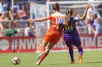 Orlando, FL - Saturday June 24, 2017: Carli Lloyd, Marta during a regular season National Women's Soccer League (NWSL) match between the Orlando Pride and the Houston Dash at Orlando City Stadium.