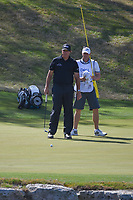 Phil Mickelson (USA) lines up his birdie putt on 11 during round 1 of the World Golf Championships, Dell Match Play, Austin Country Club, Austin, Texas. 3/21/2018.<br /> Picture: Golffile | Ken Murray<br /> <br /> <br /> All photo usage must carry mandatory copyright credit (&copy; Golffile | Ken Murray)