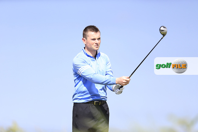 STephen Healy (The Royal Dublin) during the 1st round of the East of Ireland championship, Co Louth Golf Club, Baltray, Co Louth, Ireland. 02/06/2017<br /> Picture: Golffile | Fran Caffrey<br /> <br /> <br /> All photo usage must carry mandatory copyright credit (&copy; Golffile | Fran Caffrey)