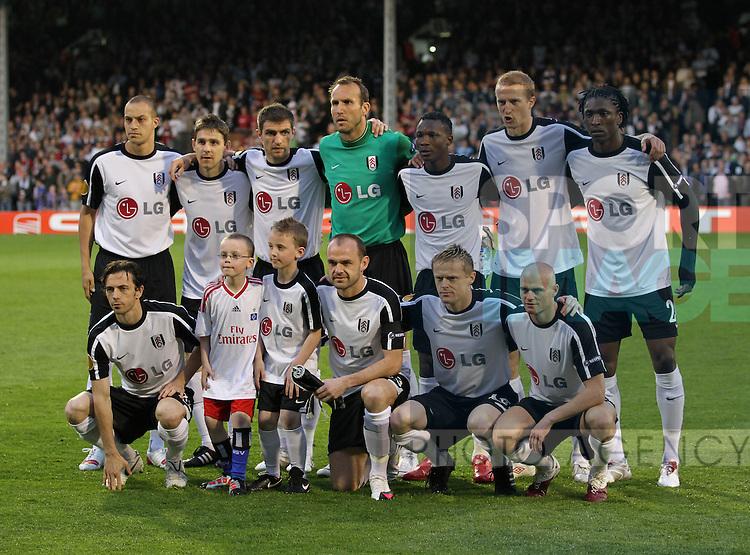 Fulham's team shot