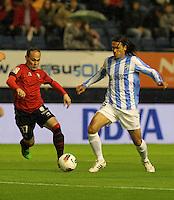 2012.04.23 LA LIGA CA OSASUNA vs MALAGA CF LIGA BBVA
