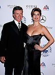 BEVERLY HILLS, CA. - October 25: Actor Alan Thicke and wife Tanya Callau  arrive at The 30th Anniversary Carousel Of Hope Ball at The Beverly Hilton Hotel on October 25, 2008 in Beverly Hills, California.
