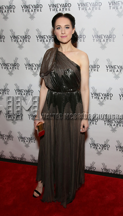 Lena Hall attends the Vineyard Theatre Gala 2018 honoring Michael Mayer at the Edison Ballroom on May 14, 2018 in New York City.