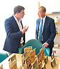 Tim Farron joins Vince Cable, Liberal Democrat Shadow Chancellor and candidate for Twickenham, on a visit to the HQ of Graze, one of the 100 fastest growing companies in the UK, <br /> <br /> The met Graze CEO Anthony Fletcher<br /> <br /> Tim Farron <br /> Anthony Fletcher <br /> <br /> <br /> Photograph by Elliott Franks <br /> Image licensed to Elliott Franks Photography Services