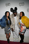 Akara, The Confetti Boutique's Duckie Confetti and Shia Douglas Attend Angela Simmons I Am Presentation Powered Monster at 404 During Mercedes-Benz Fashion Week Fall 2014 NY