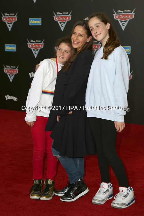 "LOS ANGELES - JUN 10:  Soliel Moon Frye, daughters at the ""Cars 3"" Premiere at the Anaheim Convention Center on June 10, 2017 in Anaheim, CA"