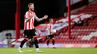 Pontus Jansson of Brentford during Brentford vs Swansea City, Sky Bet EFL Championship Play-Off Semi-Final 2nd Leg Football at Griffin Park on 29th July 2020