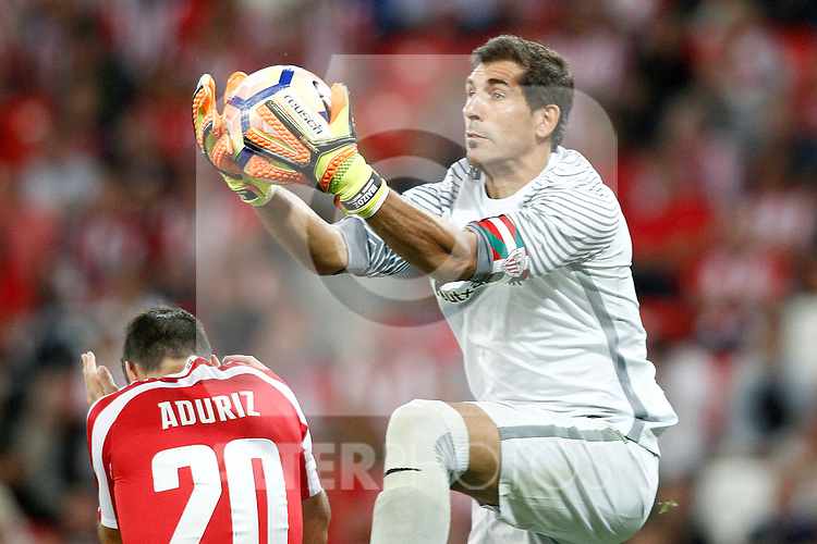 Athletic de Bilbao's Gorka Iraizoz during La Liga match. August 28,2016. (ALTERPHOTOS/Acero)