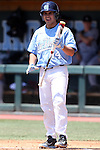 07 May 2016: North Carolina's Tyler Ramirez. The University of North Carolina Tar Heels played the University of Louisville Cardinals in an NCAA Division I Men's baseball game at Boshamer Stadium in Chapel Hill, North Carolina.