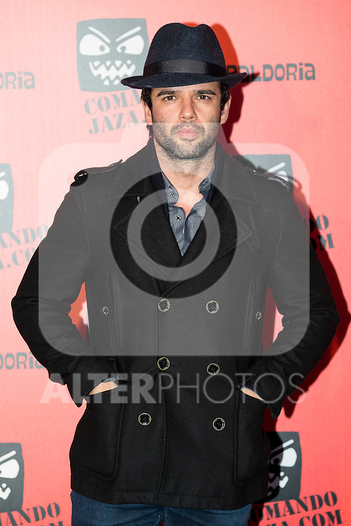 Raul Pe&ntilde;a attends the presentation of the brand &quot;Comando Jaza&quot; in Madrid, December 14, 2015<br /> (ALTERPHOTOS/BorjaB.Hojas)