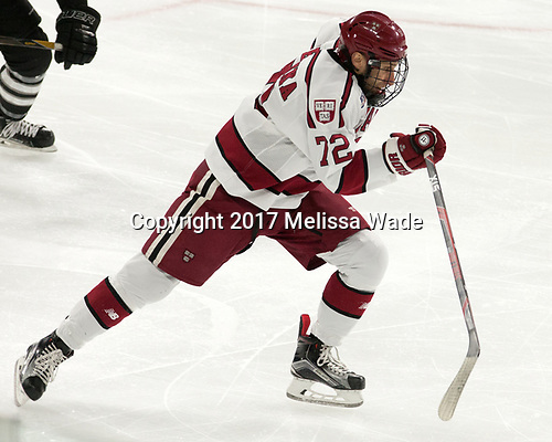 Phil Zielonka (Harvard - 72) - The Harvard University Crimson defeated the Providence College Friars 3-0 in their NCAA East regional semi-final on Friday, March 24, 2017, at Dunkin' Donuts Center in Providence, Rhode Island.