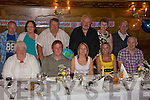 Happy Birthday: Sinead O' Sullivan celebrated her 30th at Leen's Hotel, Abbeyfeale on Saturday evening. Pictured are l-r: Nora Mary O' Sullivan, John Carmody, Sinead O' Sullivan, Sharon McCoy and Timmy O' Sullivan Back l-r: Graham Buckley, Breda and Paddy O' Sullivan, John Nash, Mary and Dan Carmody.